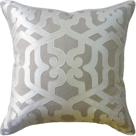 Linen Modern Elegance Pillow (other colors available)