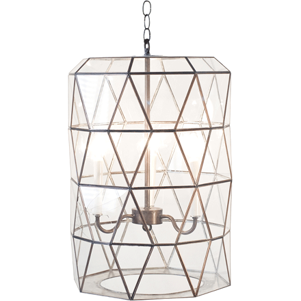 Moderna Lantern (other finishes available)