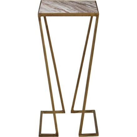 Orvieto Side Table - Kings Gold Frame and Granite Top.