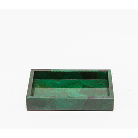 Emerald Shell Palm Beach Soap Dish.