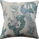 Peacock Pillow (other colors available)
