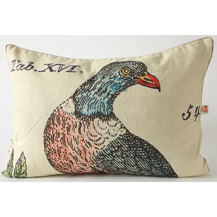 Right Facing Bird of Prey Pillow