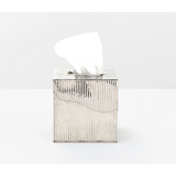 Shiny Nickel Redon Tissue Box.