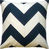 Slubby Linen Zig Zag Pillow (other colors available)