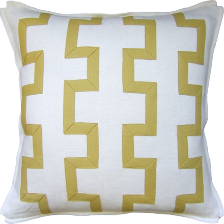 Trellis Fretwork Pillow (other colors available)
