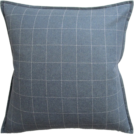 Windowpane Wool Pillow