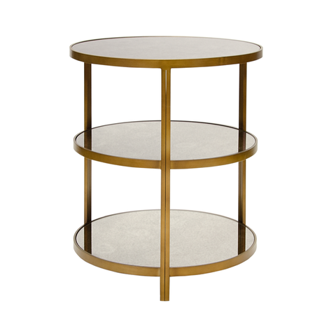 Three Tiered Round Table