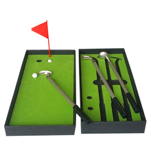 Load image into Gallery viewer, 2TRIDENTS 1 Set of Golf Accessories with Box - Mini Portable Golf Set for Indoor Outdoor Training Practice