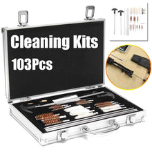 Load image into Gallery viewer, 2TRIDENTS 103 Pcs Universal Gun Cleaning Kit All-in-one Keep Your Guns Performing at Their Best