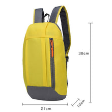 Load image into Gallery viewer, 2TRIDENTS Travel Backpack ultralight Outdoor Sports Backpack for Men Women, Child Gym Running Bags Climbing Portable Bags (Black)