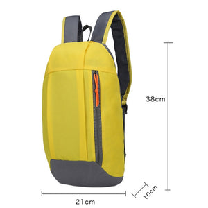 2TRIDENTS Travel Backpack ultralight Outdoor Sports Backpack for Men Women, Child Gym Running Bags Climbing Portable Bags (Black)