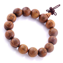 Load image into Gallery viewer, HoliStone 8mm Lapis Lazuli and Tiger Eye Stone Beaded Lucky Charm Stretch Bracelet ? Anxiety Stress Relief Yoga Meditation Bracelet for Women and Men