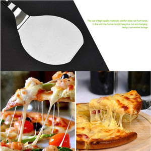2TRIDENTS Stainless Steel Cake Pizza Shovel for Pizzas, Delicate Breads, Cakes, Pies, Pastries