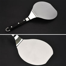 Load image into Gallery viewer, 2TRIDENTS Stainless Steel Cake Pizza Shovel for Pizzas, Delicate Breads, Cakes, Pies, Pastries