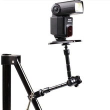 "Load image into Gallery viewer, 2TRIDENTS Artculating Friction Magic Arm with 1/4"" Thread for Camera Accessories Essential Photographing Accessory"