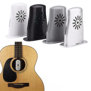 2TRIDENTS Acoustic Guitar Humidifier - Releases Moisture Slowly and Evenly – Protects Instrument from Humidity Without Damaging The Finish (Black)