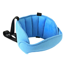 Load image into Gallery viewer, 2TRIDENTS Baby Car Seat Head Support - Child Safety Car Seat Neck Relief Holder - Head Support A Comfortable Safe Sleep Solution (Blue)