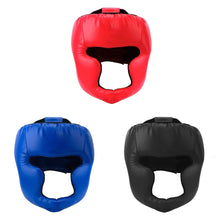Load image into Gallery viewer, 2TRIDENTS Boxing Helmet - Protective Gear Helmet for Boxing, Muay Thai, Clinching, Kickboxing, Grappling, Taekwondo, MMA, Wrestling and More (Black)