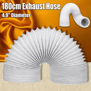 2TRIDENTS Portable Air Conditioner Exhaust Hose 5 Inch Diameter Clockwise