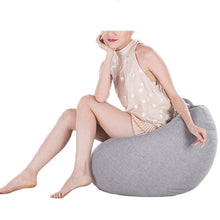 Load image into Gallery viewer, 2TRIDENTS Bean Bag Chair Cover Extra Large Stuffed Animal Storage Relaxing Chair Kid Toys Storage Home Decor (1)