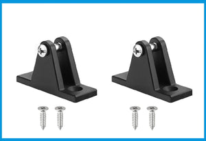 2TRIDENTS 2 Pcs Boat Deck Hinge Mount - Great Accessories for Boat, Yacht, Kayak, Canoe, Marine Boat, Fishing Dinghy, Raft and More