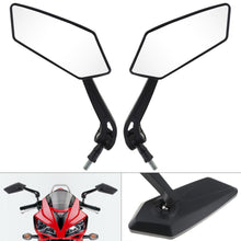 Load image into Gallery viewer, 2TRIDENTS Bar End Side Motorcycle Rearview Mirrors - Give A Clear Vision On Both Day and Night - Decorate Your Motorcycle