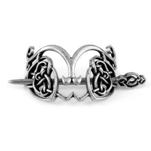 Load image into Gallery viewer, GUNGNEER Celtic Irish Knot Viking Runes Hair Pin Brooch Stick Slide Jewelry Accessories Gift