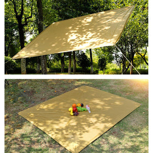 2TRIDENTS 70 x 57 inch Canopy Shade Sail - Rectangle UV Block for Patio Deck Yard and Outdoor Activities