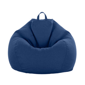 2TRIDENTS Bean Bag Chair Cover Extra Large Stuffed Animal Storage Relaxing Chair Kid Toys Storage Home Decor (1)