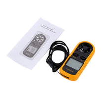 Load image into Gallery viewer, 2TRIDENTS Portable Anemometer Handheld Wind Speed Meter Measuring Wind Speed Air Flow with Monitor Field