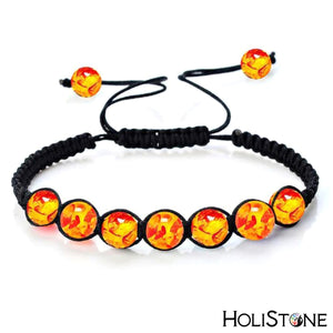 HoliStone Adjustable 6mm Chakra Stone Bracelet ? Reiki Healing Balancing Energy Bracelet for Meditation and Yoga