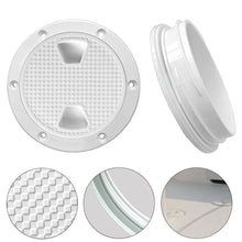 Load image into Gallery viewer, 2TRIDENTS 4-Inch Non-Slip Durable Hatch Cover Round Plate Anti Corrosive for Interior and Exterior Applications