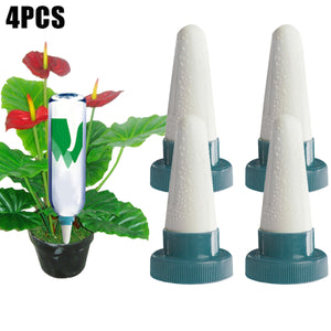 2TRIDENTS 4 Pcs Plant Watering Stake - for Containers, Bushes, Shrubs, Watering Spike, Planter Waterer - Indoor & Outdoor Plant