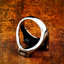 Load image into Gallery viewer, ENXICO Mjolnir Thor's Hammer Ring ? 316L Stainless Steel ? Norse Scandinavian Viking Jewelry (10)
