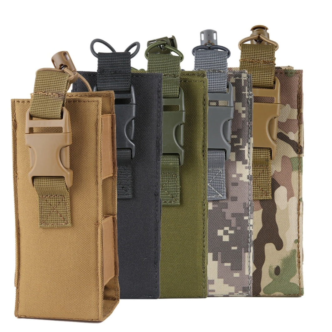 2TRIDENTS Military Bottle Bag Water Bottle Pouch Travel Bag Tactical Carrier Outdoor Conveniently