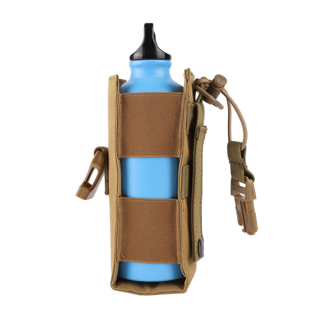 2TRIDENTS Military Bottle Bag Water Bottle Pouch Travel Bag Tactical Carrier Outdoor Conveniently (ACU)