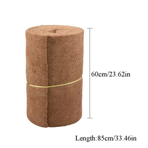 2TRIDENTS Coco Liner Bulk Roll for Home Garden Wedding Decoration, Giving Ecological Enjoyment (Brown)