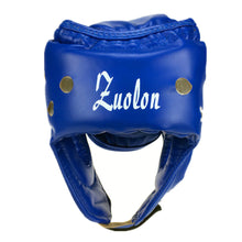 Load image into Gallery viewer, 2TRIDENTS Boxing Helmet - Training Protector Guard for Fight, Muay Thai, Boxeo, MMA, Taekwondo and Other Sports (L, Blue)