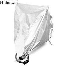 Load image into Gallery viewer, 2TRIDENTS Waterproof Motorbike Cover All Season Weather Outdoor Protection for Bike Motorbike (All Silver, L)
