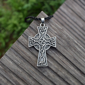 GUNGNEER Celtic Knots Triquetra Stainless Steel Pendant Necklace Eagle Key Chain Jewelry Set
