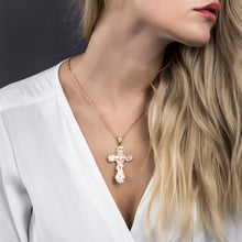 Load image into Gallery viewer, GUNGNEER Jesus Cross Pendant Necklace Christian Jewelry Accessory Gift For Men Women