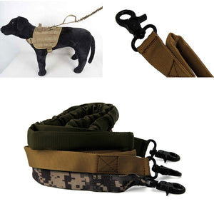 2TRIDENTS Pet Leash Length 39.37inches Tactical Military Perfect for Dog Training Leash Pet (Army Green, 39 inch)