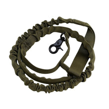 Load image into Gallery viewer, 2TRIDENTS Pet Leash Length 39.37inches Tactical Military Perfect for Dog Training Leash Pet (Army Green, 39 inch)