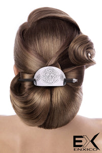 ENXICO Cectic Knot Hairpin ? Silver Color ? Irish Celtic Hair Accessory for Women