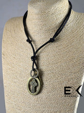 Load image into Gallery viewer, ENXICO Celtic Cross Amulet Pendant Necklace for Women & Men ? Irish Celtic Jewelry