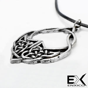 ENXICO Celtic Knot Charm Pendant Necklace for Men Women ? Irish Celtic Jewelry