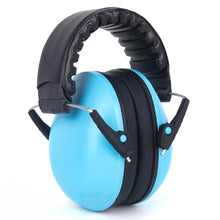 Load image into Gallery viewer, 2TRIDENTS Sound-Proof Earmuffs Noise Reducing Ear Protection Headwear for Outdoor Activities Shooting Hunting (Blue)
