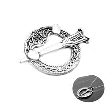 Load image into Gallery viewer, GUNGNEER Celtic Knot Irish Trinity Hair Pin Brooch Clip Jewelry Accessories for Women Men