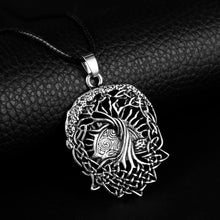 Load image into Gallery viewer, GUNGNEER Celtic Tree of Life Pendant Necklace Hair Pin Brooch Jewelry Accessories Set Men Women
