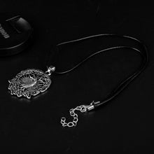 Load image into Gallery viewer, GUNGNEER Celtic Knot Tree of Life Yggdrasil Pendant Necklace Jewelry for Men Women Rope Chain